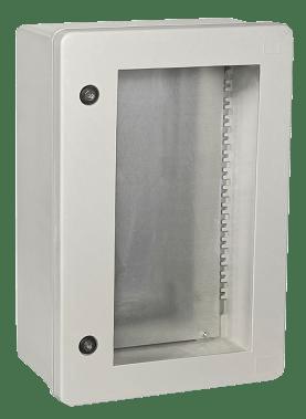 Шкаф управления с окном